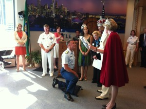 Seafair 2012 Mayor's Reception, Margo Myers Communications