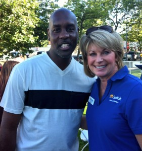 Gary Payton and Margo Myers