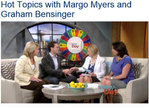 Margo Myers and Graham Bensinger on New Day Northwest