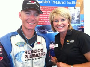 Margo and J. Michael Kelly Seafair 2012